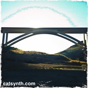 Galena Creek Bridge hipstamatic photo