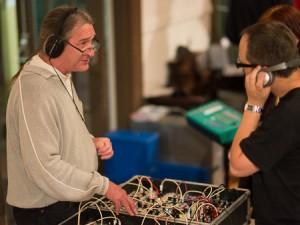Synthesizerman and Serge Modular