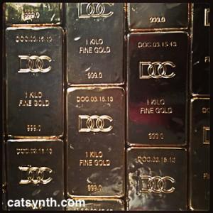 Desire Obtain Cherish gold bricks