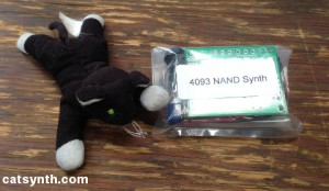 4093 NAND Synth kit