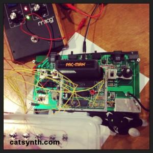 Hacked Atari console