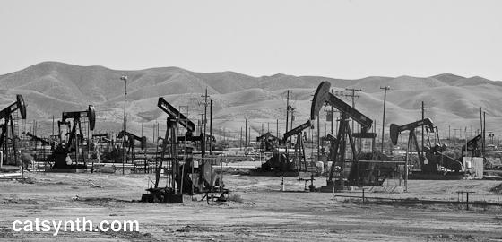 Oil Fields, Kern County, CA