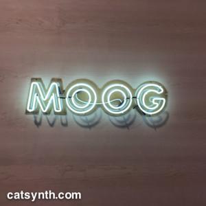 Moog neon sign