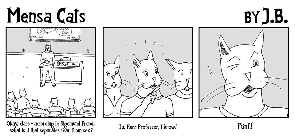 Mensa Cats 7