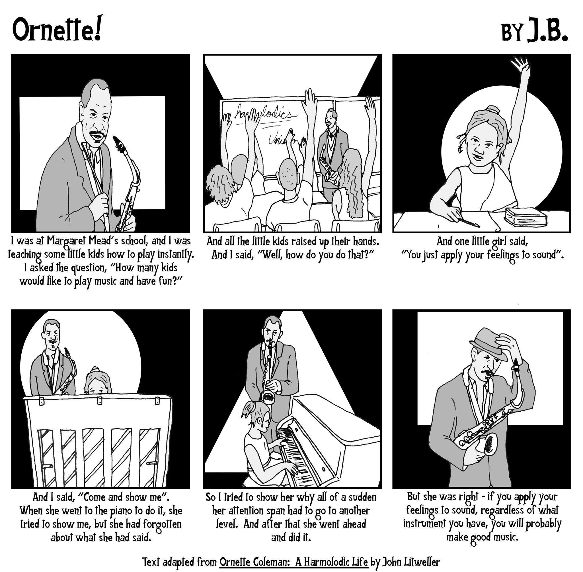 Ornette Coleman tribute