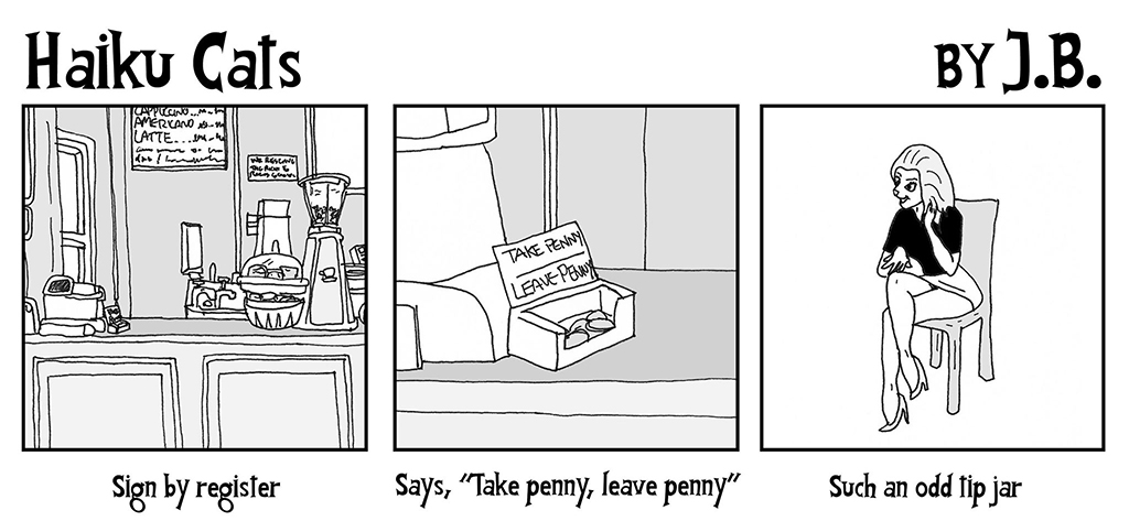 Haiku Cats: Take Penny Leave Penny