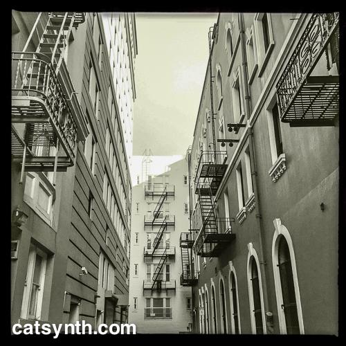 Dead End downtown San Francisco