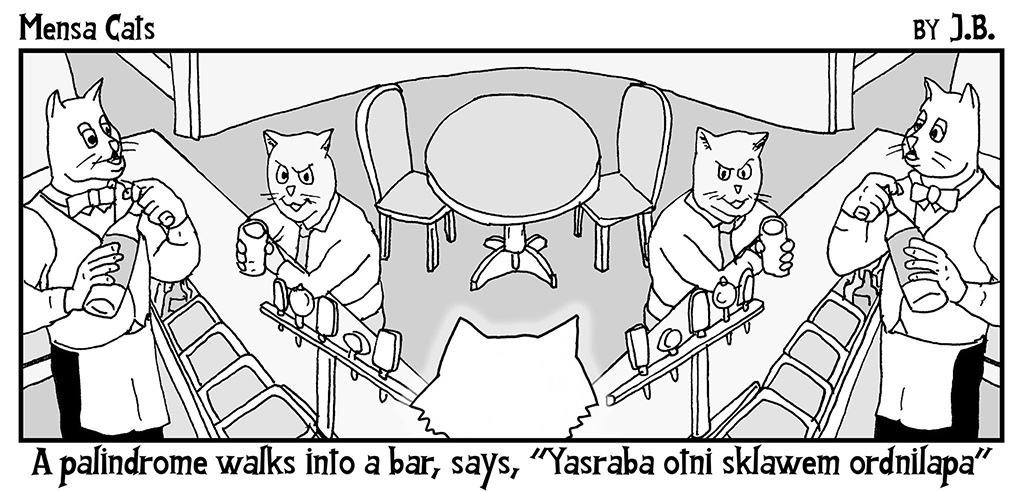Mensa Cats: Palindrome