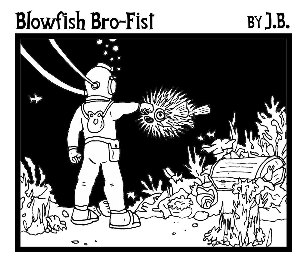 Blowfish Bro-Fist by J.B.
