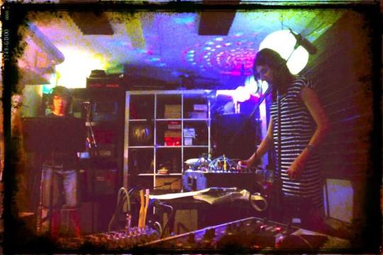 Polly Moller and Amanda Chaudhary at UBRadio Salon