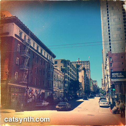 Taylor Street in the Tenderloin