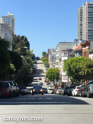 Down Nob Hill up Russian Hill