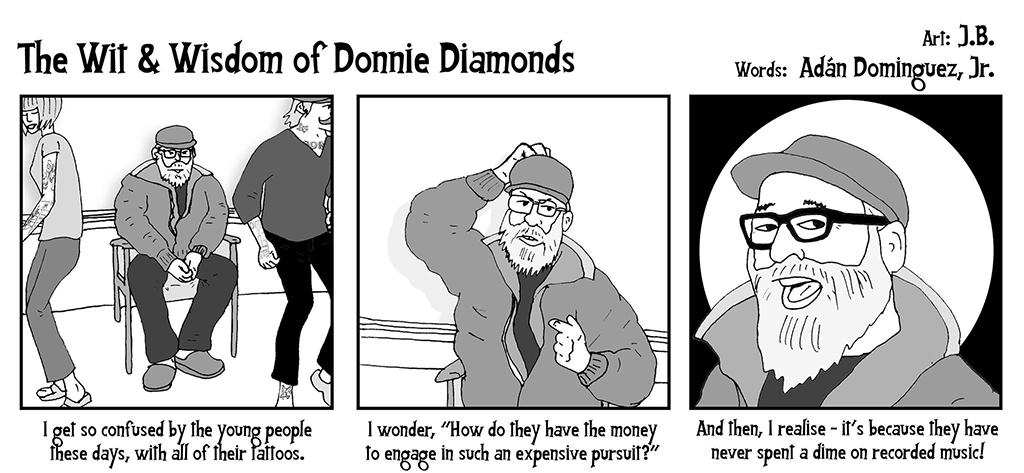 The Wit & Wisdom of Donnie Diamonds