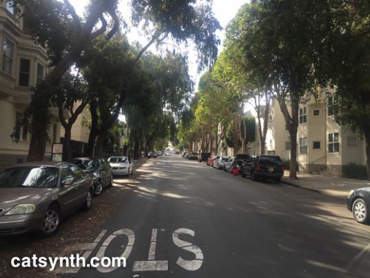 Ellis Street residential block
