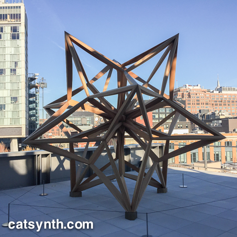 Whitney Museum sculpture terrace