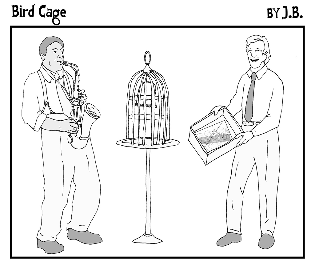 Bird Cage by J.B.