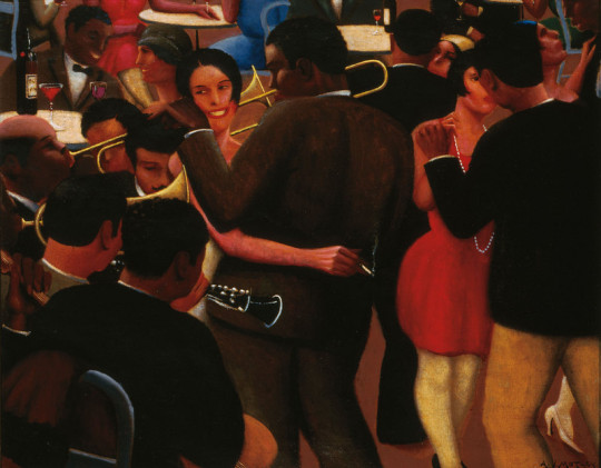 Archibald Motley.  Blues