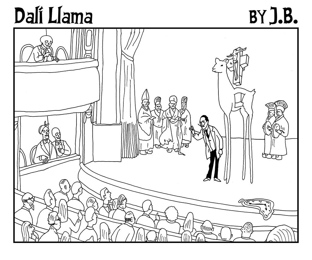 Dalí Llama