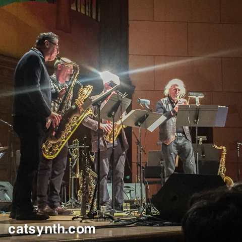 Rova Saxophone Quartet