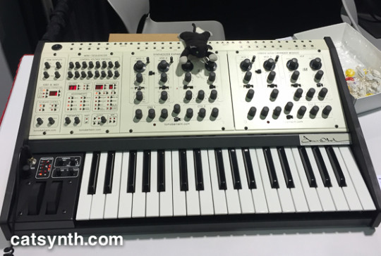 Tom Oberheim two-voice pro synthesizer