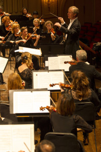 The St. Louis Symphony Orchestra, conducted by David Robertson, perform Friday, January 29 and Sunday, January 31, 2016 in Zellerbach Hall. (credit: Dilip Vishwanat)