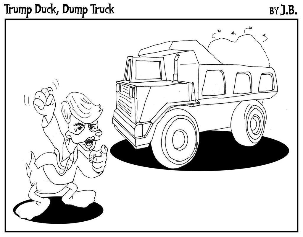 Trump Duck, Dump Truck