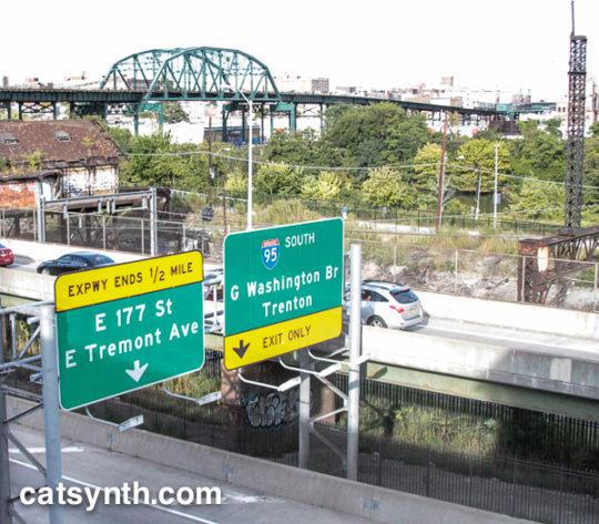Sheridan Expressway northbound